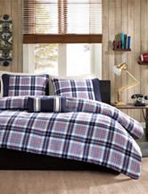 Mizone Elliot 4-pc. Plaid Print Comforter Set