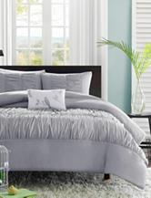 Mizone Mirima 4-pc. Ruched Comforter Set