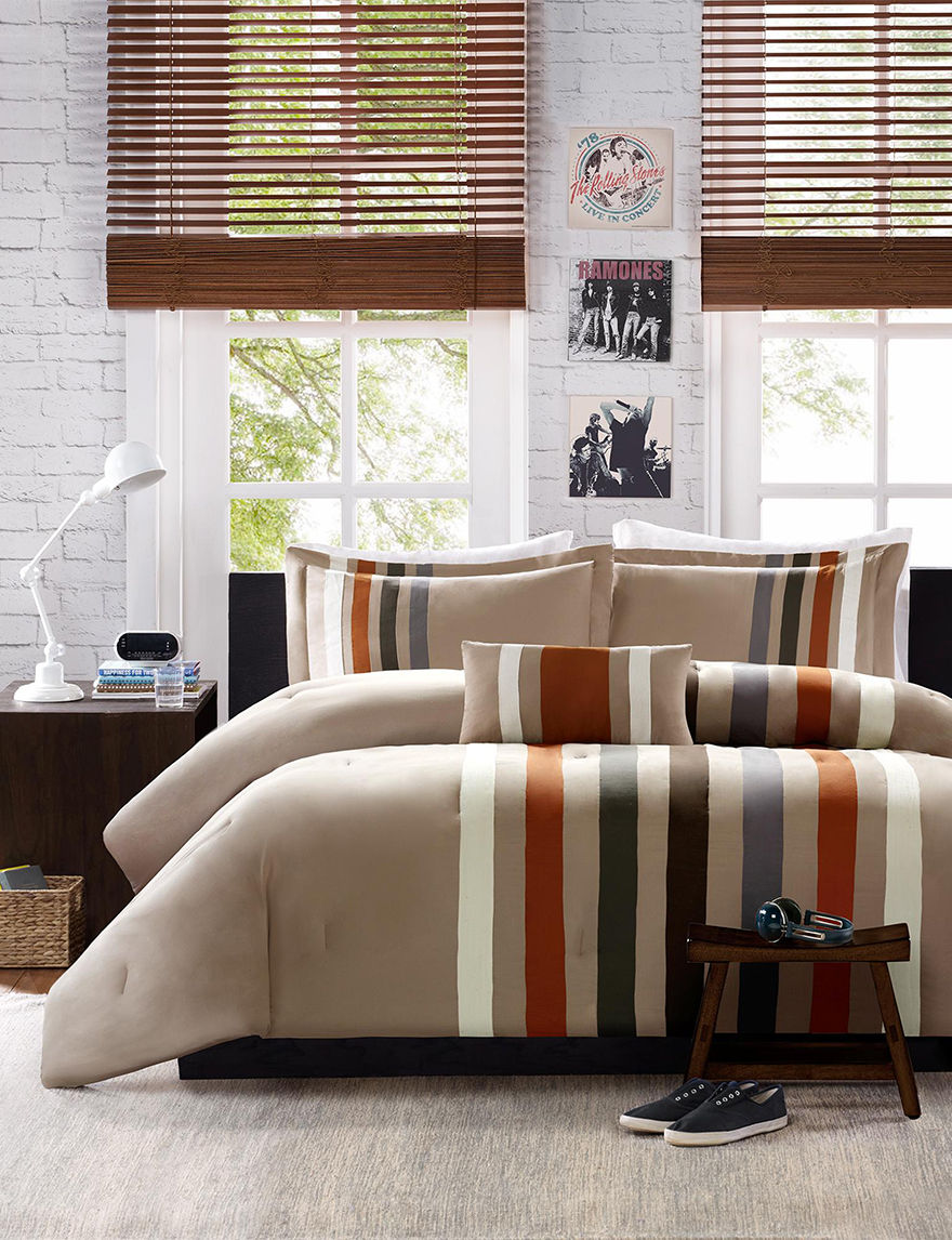 Mizone Khaki Comforters & Comforter Sets