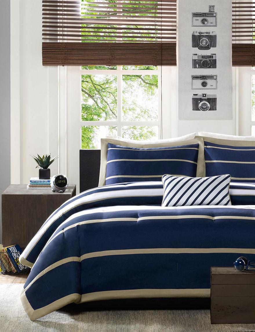 Mizone Navy Comforters & Comforter Sets