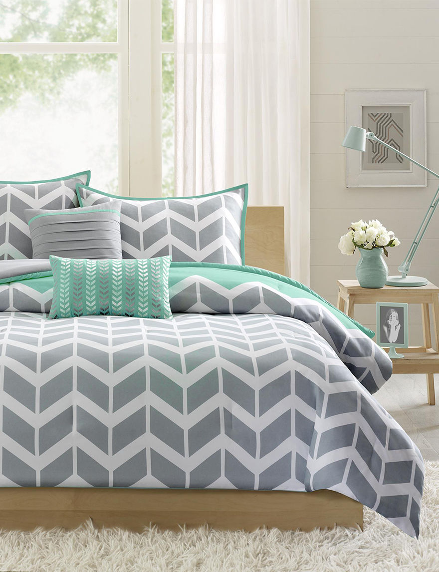 Intelligent Design Green Comforters & Comforter Sets