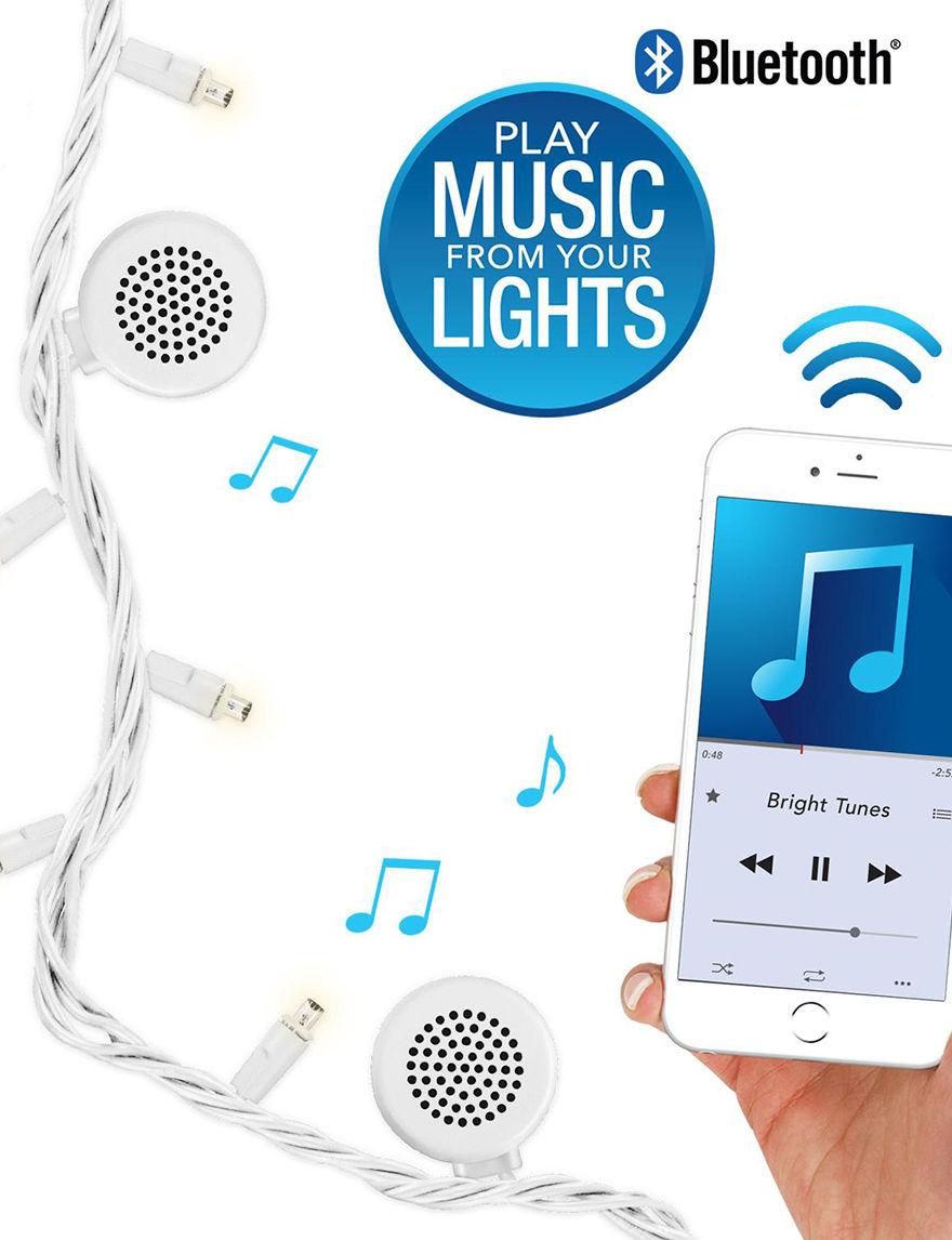 Bright Tunes White Speakers & Docks Home & Portable Audio