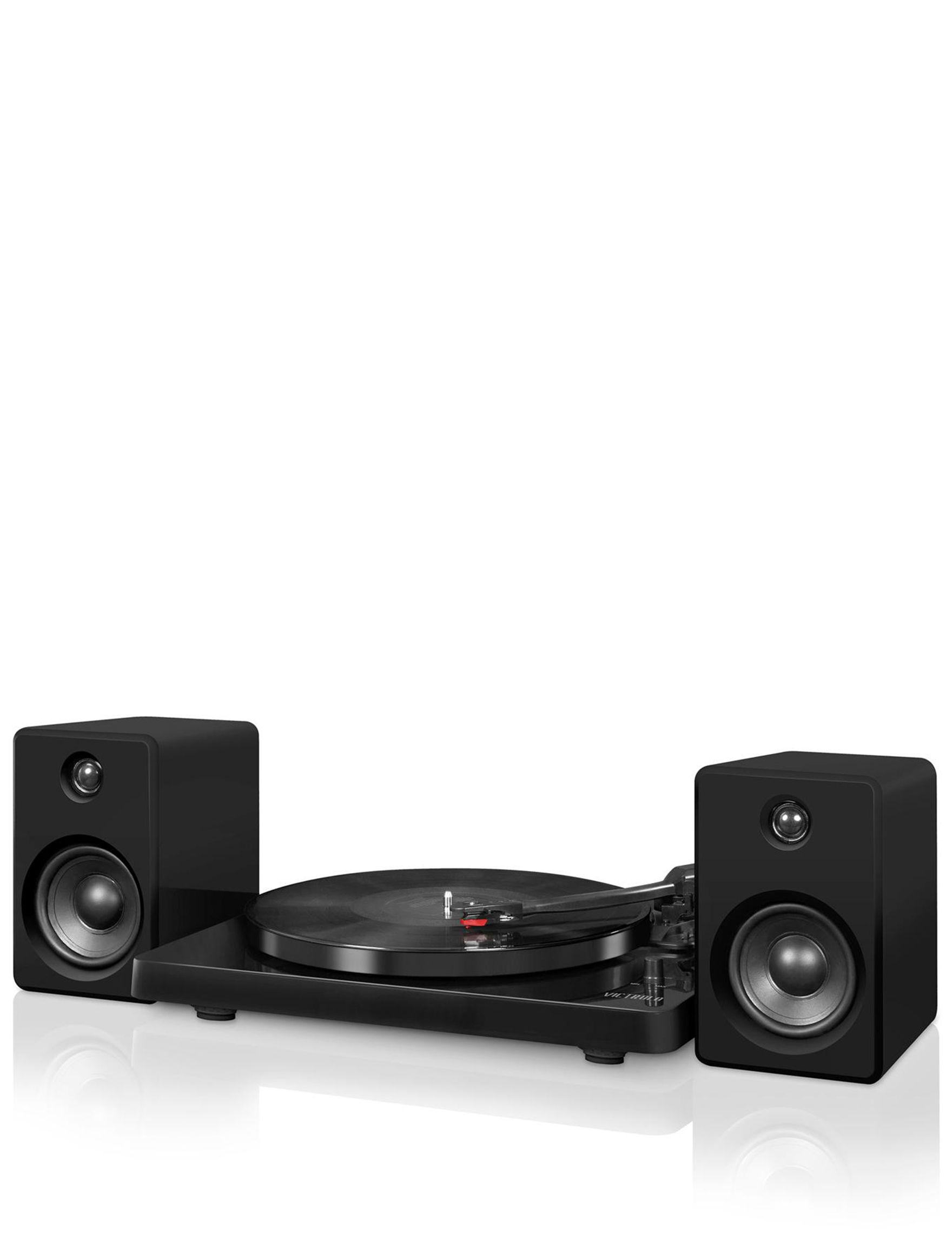 Victrola Black Speakers & Docks Home & Portable Audio