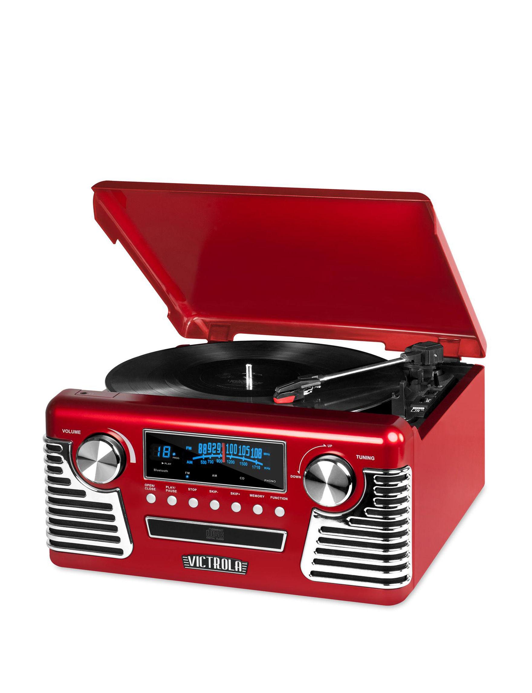 Victrola Red Speakers & Docks Home & Portable Audio