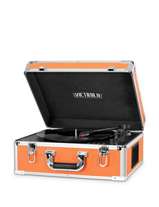 Victrola Orange Speakers & Docks Home & Portable Audio