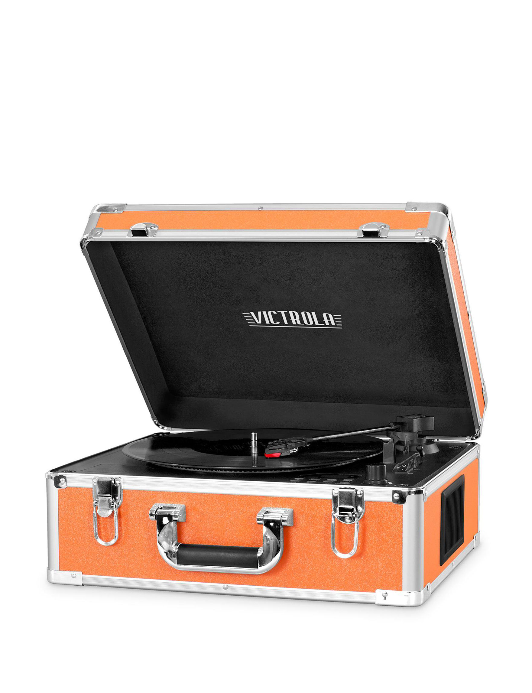 Victrola Orange Speakers & Docks Home & Portable Audio