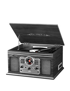 Victrola Grey Speakers & Docks Home & Portable Audio