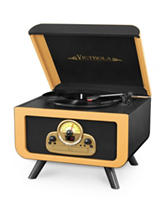 Victrola Tabletop Bluetooth CD Record Player
