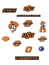 Fathead Jr. 13-pc. Oklahoma State University Wall Decals