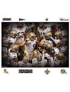 Fathead 9-pc. New Orleans Saints
