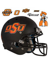 Fathead 7-pc. Oklahoma State Cowboys Black Helmet Wall Decals