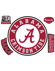 Fathead 5-pc. Alabama Crimson Tide Circle Logo Wall Decals
