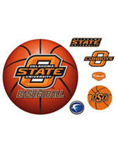 Fathead 6-pc. Oklahoma State Cowboys Basketball Logo Wall Decals