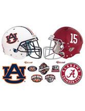 Fathead 11-pc. Alabama & Auburn Rivalry Pack Wall Decals