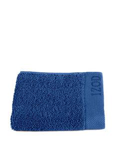 Izod Blue Washcloths Towels