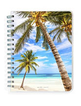2017 Academic Year Tropical Beaches Spiral Planner