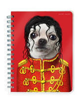 2017 Academic Year Pets Rock Spiral Planner