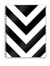 2017 Academic Year Classic Chevron Spiral Planner
