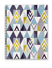 2017 Academic Year Soho Shapes Perfect Spiral Planner