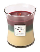 Woodwork Christmas Triliogy Candle