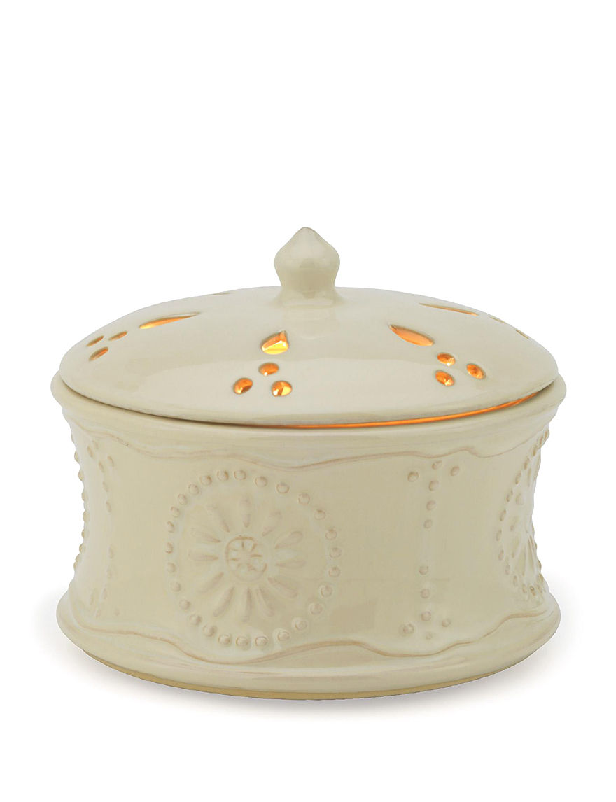 Candle Warmers White Candles & Candle Holders