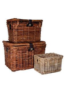 Home Essentials Natural Cubbies & Cubes Storage & Organization