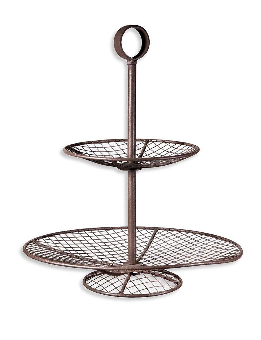 Home Essentials Bronze Serving Platters & Trays Serveware