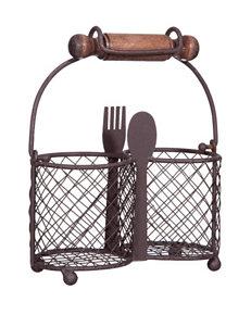 Home Essentials Bronze Trays & Jars Serveware