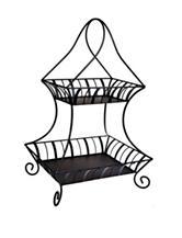 Home Essentials 2-tier Rectangular Basket