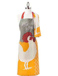 Mu Kitchen 2-pc. Rise & Shine Apron & Dishtowel Gift Set