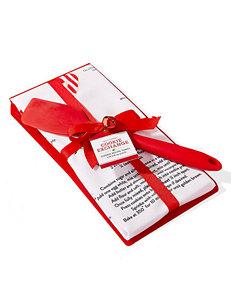 Two's Company Cookie Exchange Recipe Towel & Spatula