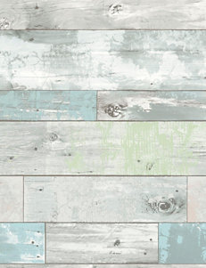 Wall Pops Beachwood Peel & Stick Wallpaper
