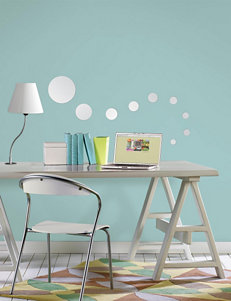 Wall Pops 18-pc. Dots Mirror Art Decal Set