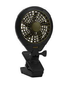 O2 Cool Black Fans Heating & Cooling