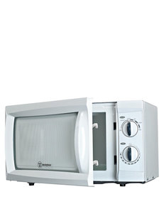 Westinghouse White 600 Watt Microwave