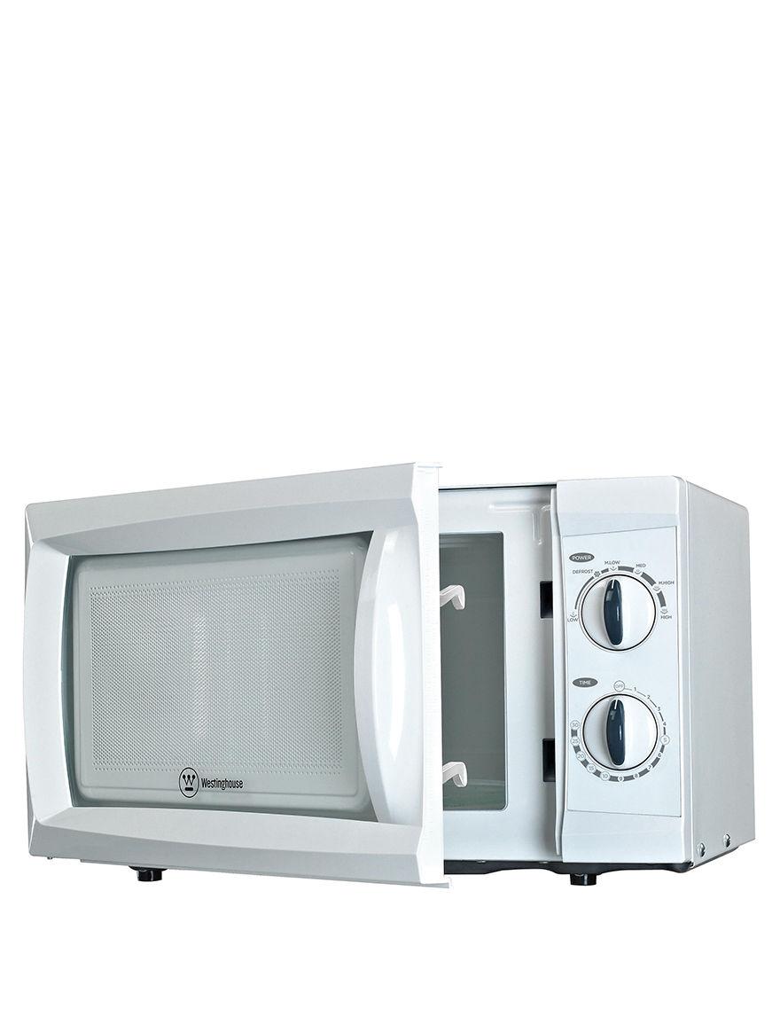 White Microwaves Kitchen Appliances