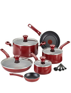 T-fal Red Cookware Sets Cookware
