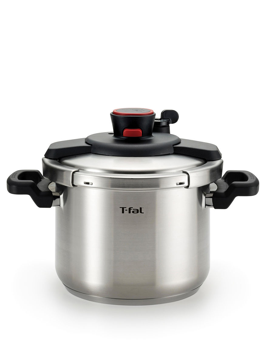 T-fal Silver Pressure Cookers, Rice Cookers & Steamers Kitchen Appliances