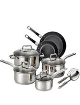 T-fal 12-pc. Precision Ceramic Stainless Steel Set