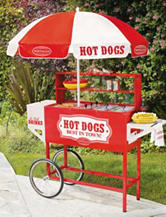 Nostalgia Vintage Collection™ Old Fashioned Hot Dog Cart