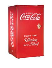 Nostalgia Coca-Cola 3.2 Cu. Ft. Refrigerator