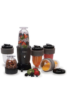 Elite Cuisine Black Blenders & Juicers Kitchen Appliances