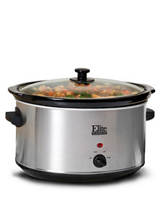 Elite Platinum Grey Slow Cookers Kitchen Appliances