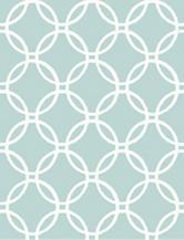Wall Pops Blue Links Peel & Stick Wallpaper