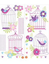 Wall Pops 2-pk. Chirping The Day Away Wall Art Set