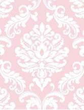 Wall Pops Pink Ariel Peel & Stick Wallpaper