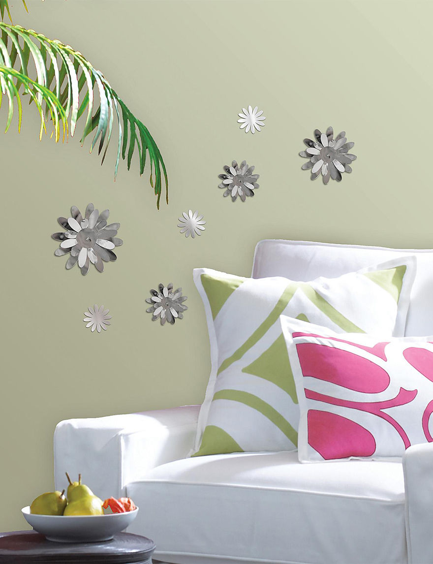 Wall Pops Metallic Grey