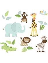 Wall Pops Safari Buddies Wall Art Kit
