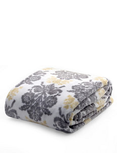 Laura Ashley Grey Blankets & Throws