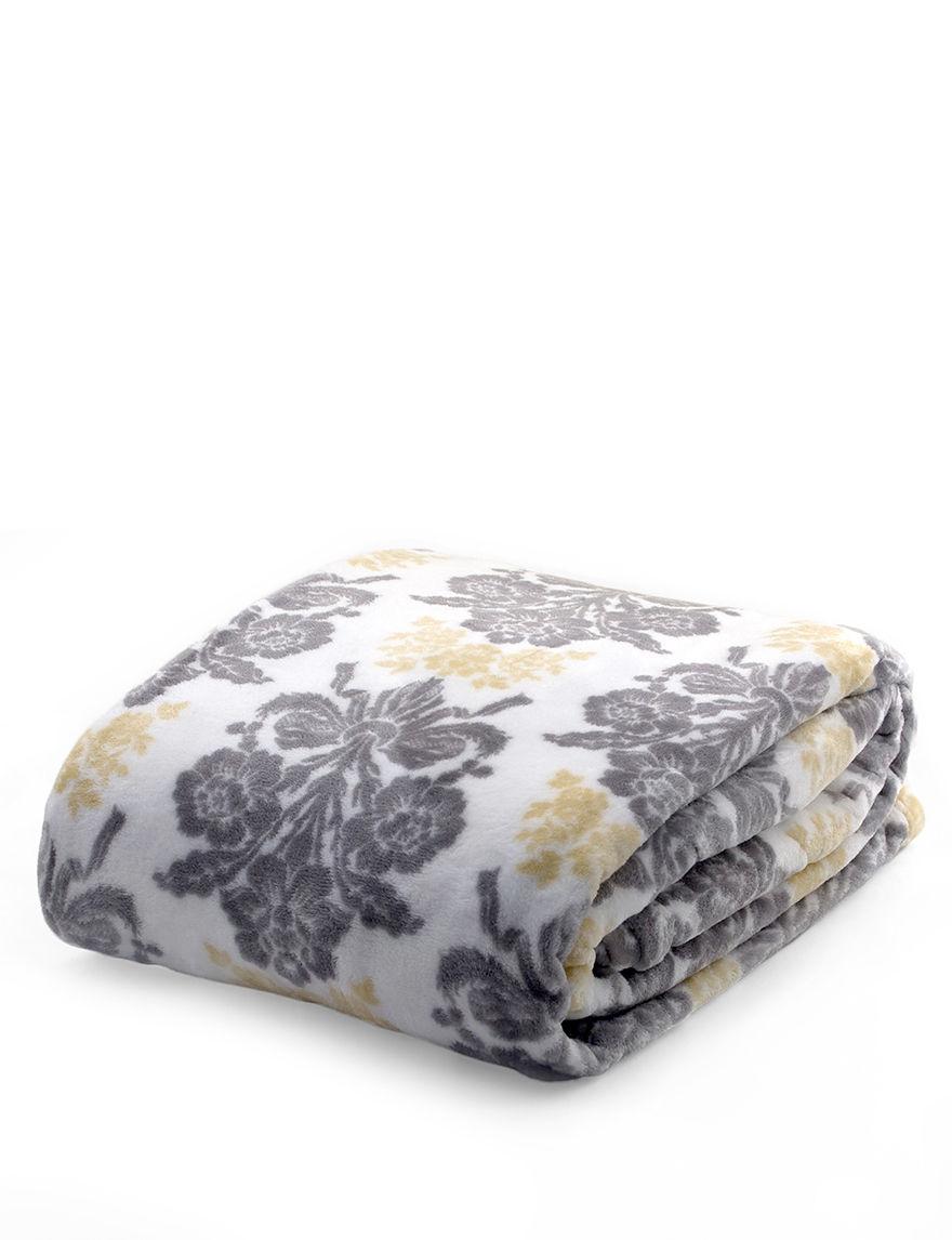 Laura Ashley Grey Blankets & Throws